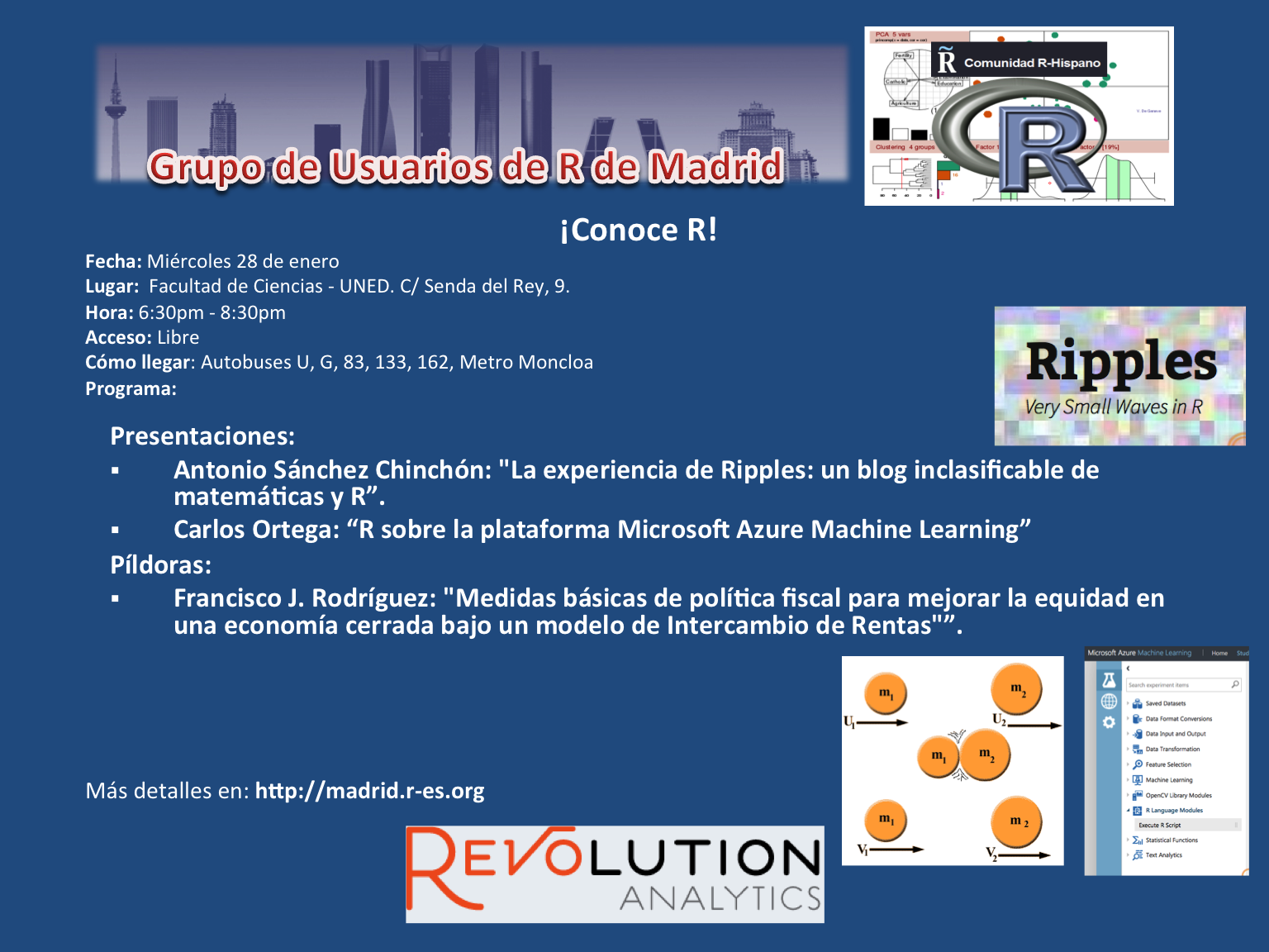 Reunion Grupo Usuarios de R de Madrid - 28-Enero - V4